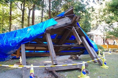 0743屋根修復中