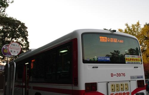 0846醍醐寺駐車場バス乗り場