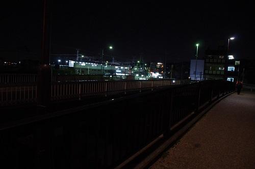 0943京阪六地蔵駅へ