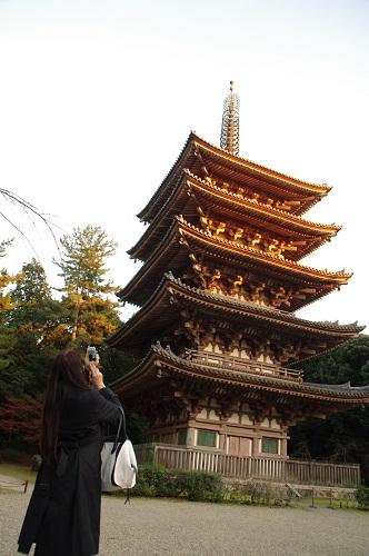 0821醍醐寺国宝五重塔