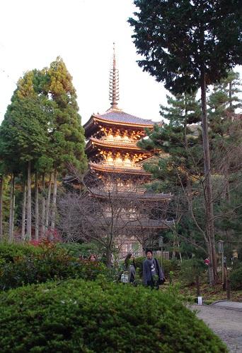 0832醍醐寺国宝五重塔
