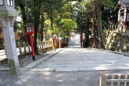 吉田神社の石段_H25.10.13撮影
