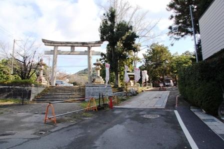 新日吉神宮へ_H25.12.10撮影