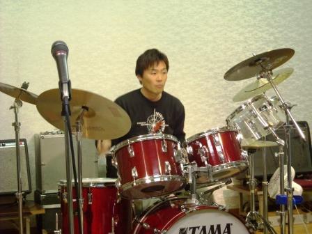 初めてドラムで参加 セッションだからこれができます。