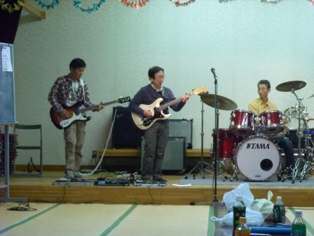 林組もライブの練習