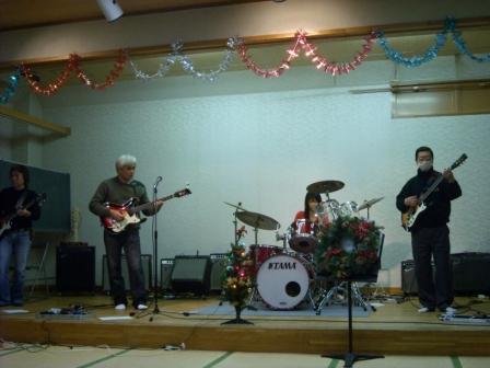 二つのバンドメンバーのセッションです。
