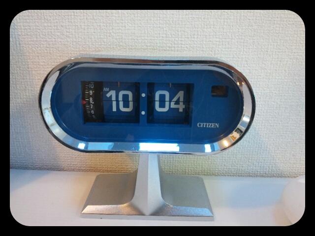 シチズンの置時計 その1