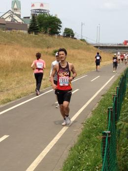 豊平川市民マラソン
