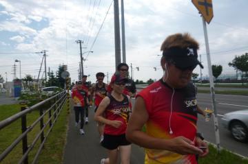 北海道マラソン試走会
