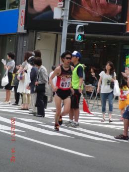 札幌国際ハーフ【応援】
