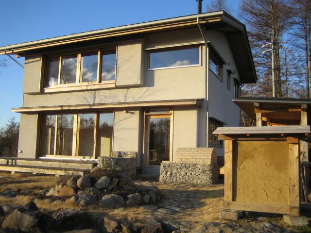 循環の家土壁サンプル