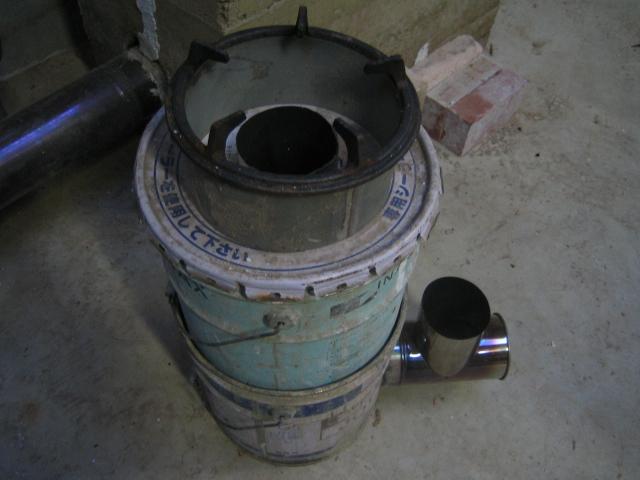 ペール缶ロケット