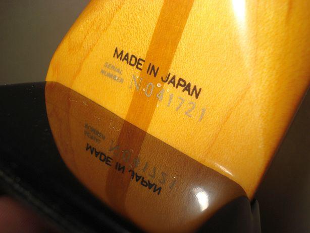 【全年代別】フェンダージャパンのシリアルナンバーと製造年度一覧表