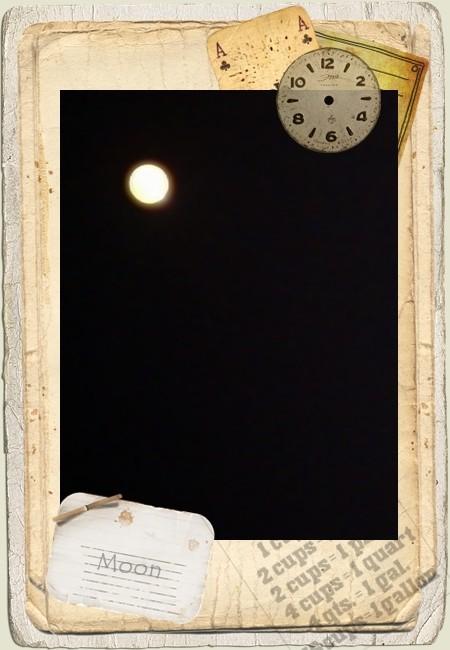 まん丸お月さま