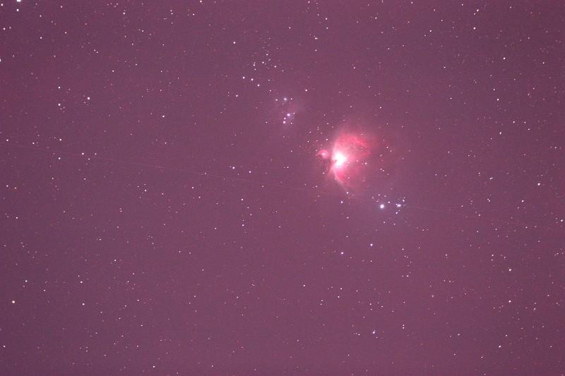 M42 オリオン大星雲(撮って出し)
