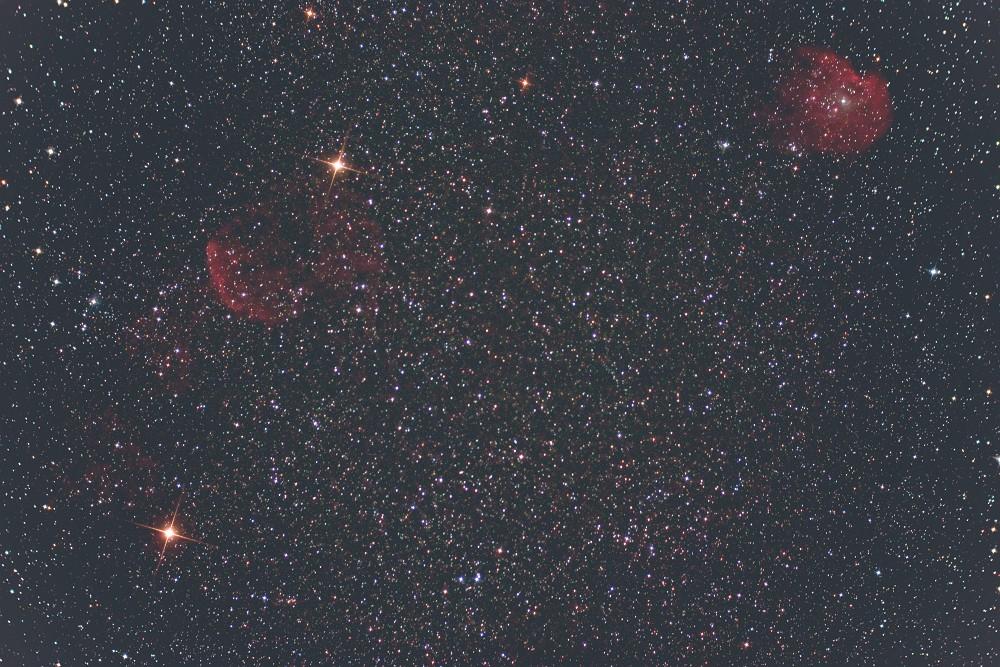 クラゲ星雲とモンキー星雲