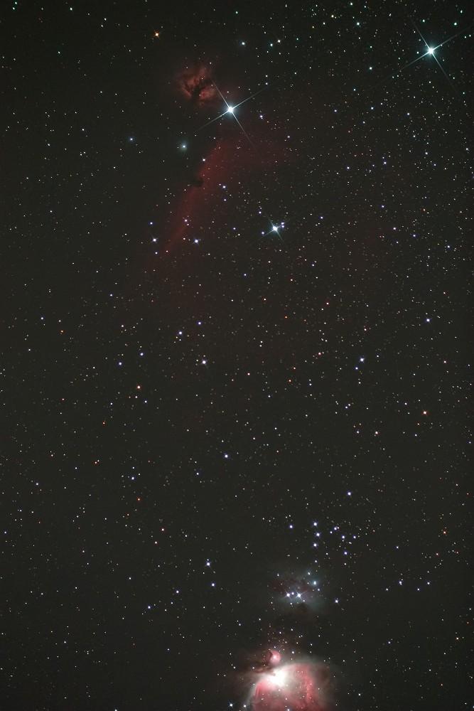 オリオンの星雲達