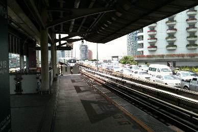バンコク サパーンタクシン駅写真