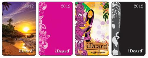 iDcard4種類