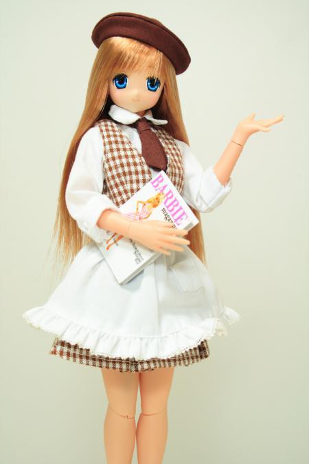 カフェ制服のサアラさん