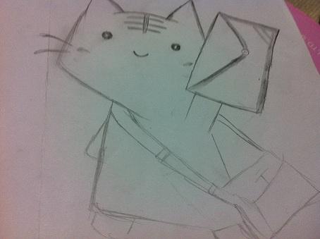 デフォルメ猫