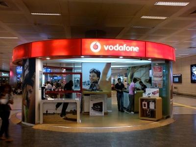 アタテュルク国際空港内のVodafoneショップ