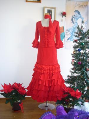 赤ツーピース クリスマス