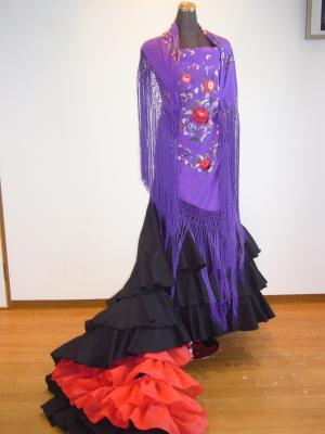 紫マントンと黒バタ