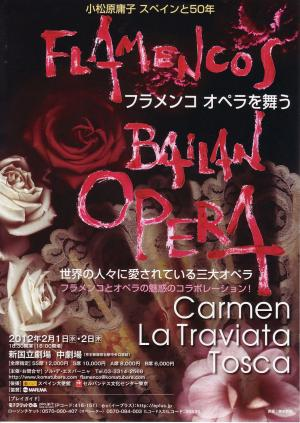 フラメンコオペラを舞う