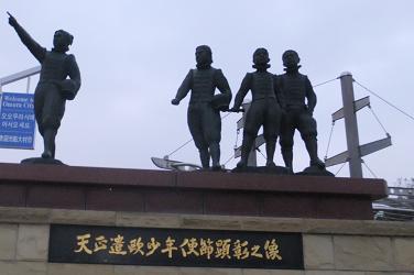 2013.1.1近所のこどもたちと大村にて 033