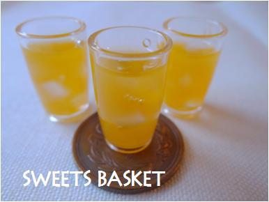 オレンジジュース完成1