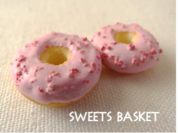 つぶつぶ苺ドーナツ