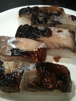 出雲 日本海 焼きサバ寿司2