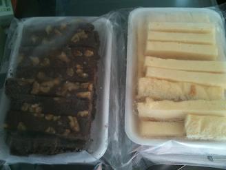 天使のおくりもの 訳ありチーズケーキ&ブラウニー