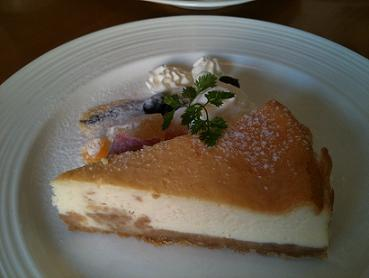 LOBROS CAFE チーズケーキ