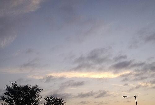 朝の空 早秋