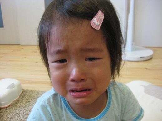 泣いてばかりの姫。