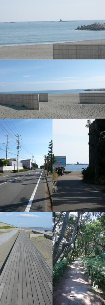茅ヶ崎のビーチの中でも人気の高いボードウォークがある海岸まで徒歩5分!!近隣は高級住宅地の東海岸南エリアです。オシャレで人気が高いお店が多い一中通り至近です。