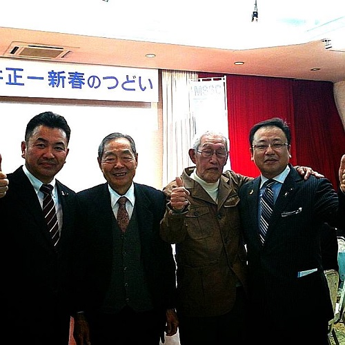 松井正一 栃木県議会議員≪新春のつどい≫へ!②