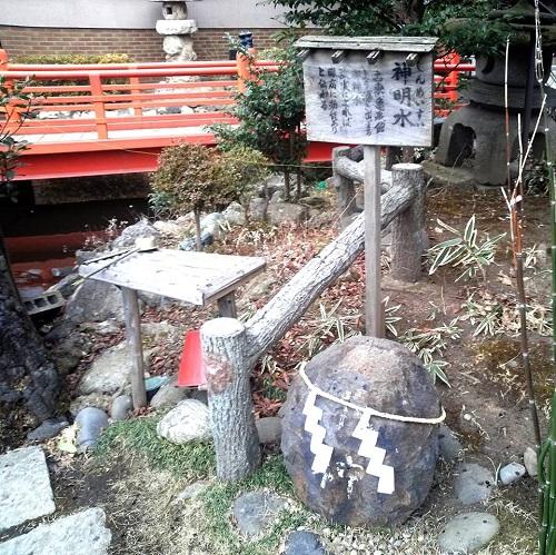 """今泉鎮座 八坂神社 """" 神明水 """" と """" 御神池 """" ④"""