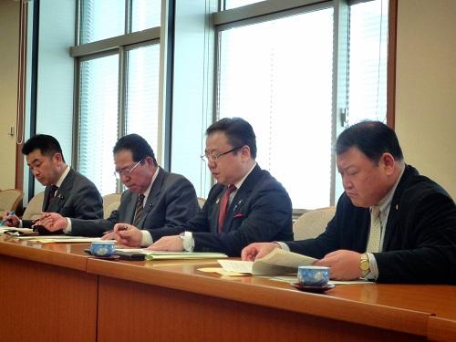2014年度 栃木県当初予算編成・政策推進関連要望に対する回答書①