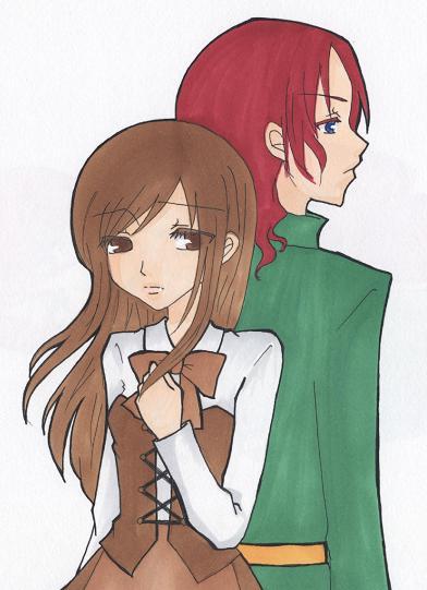 レニーとアヤノ