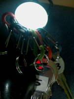 キーホルダー点灯