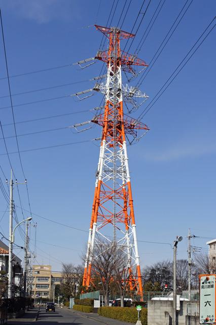 南川越線16号鉄塔