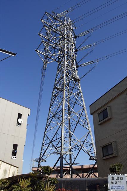 豊昭線32号鉄塔