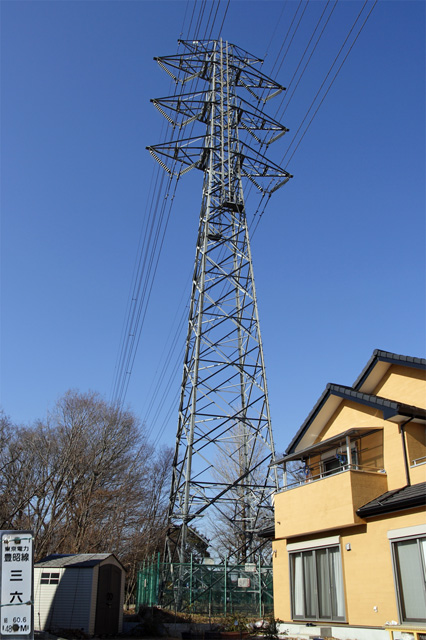 豊昭線36号鉄塔