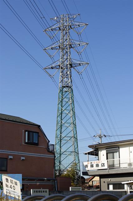 豊昭線40号鉄塔
