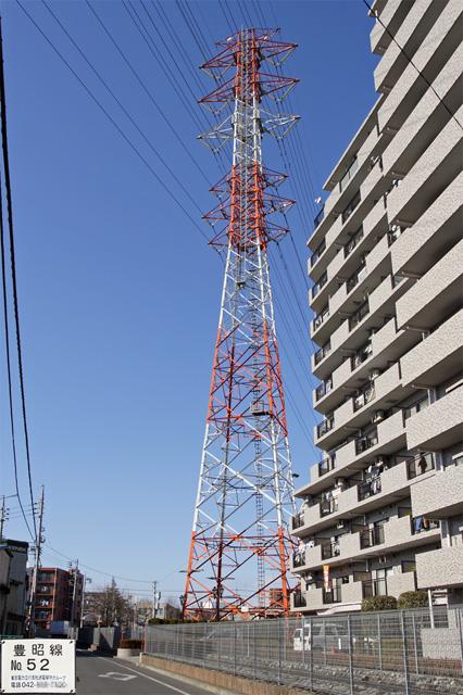 豊昭線52号鉄塔
