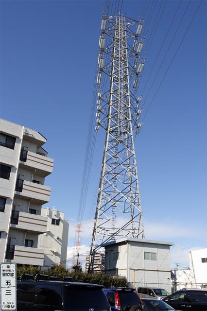 豊昭線53号鉄塔
