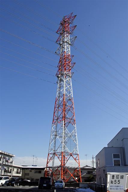 豊昭線55号鉄塔